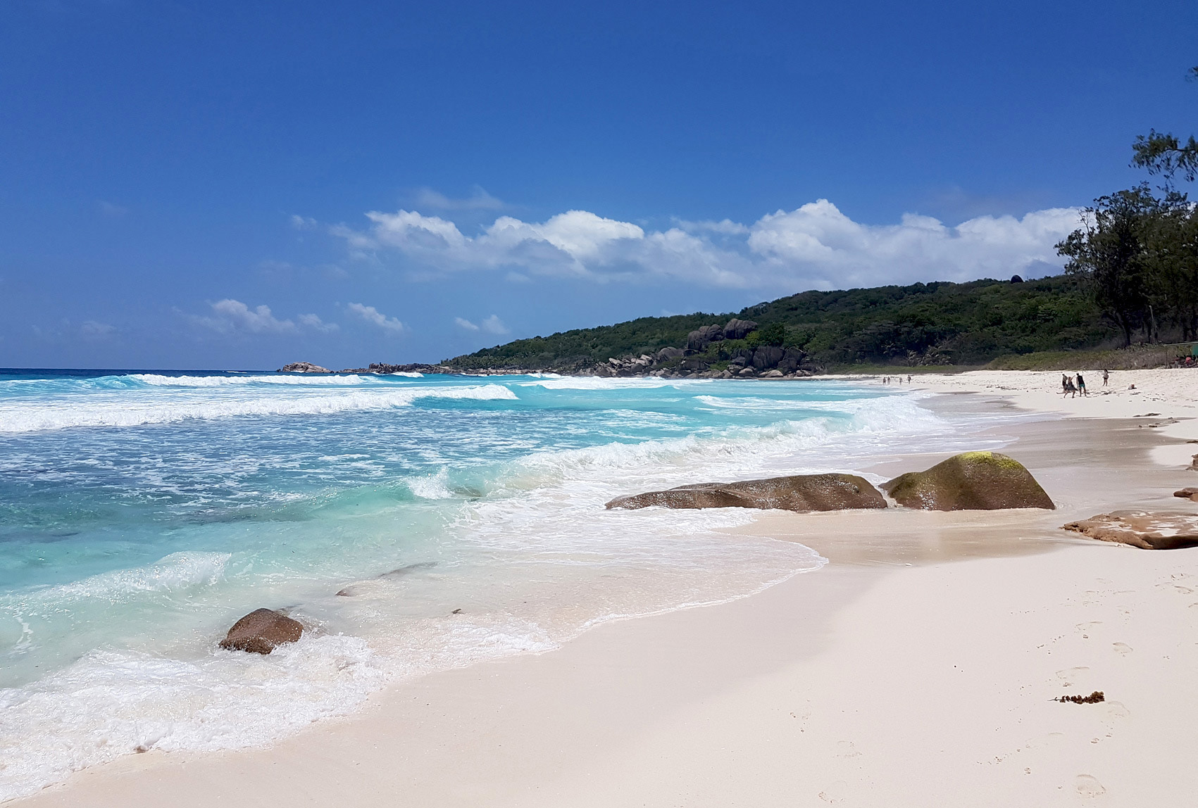 Another view of Grand Anse, La Digue, Seychelles